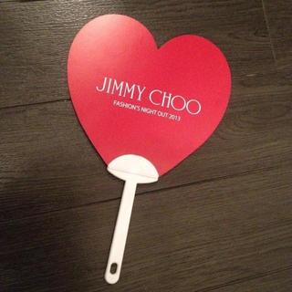 ジミーチュウ(JIMMY CHOO)のジミーチュウ非売品(O_o)💗うちわ❤(その他)