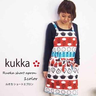 クッカ(kukkA)のお値下げしました♡kukka ショート丈 エプロン(その他)