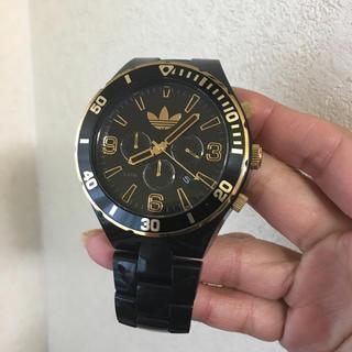 アディダス(adidas)のアディダス adidas オリジナルス 腕時計 ブラックxゴールド メンズ (腕時計(アナログ))
