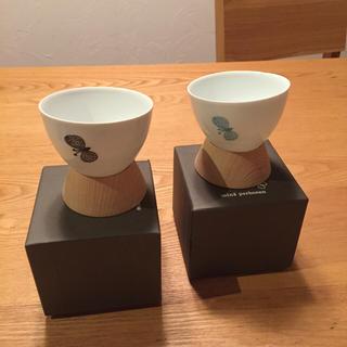 ミナペルホネン(mina perhonen)のmina perhonenミナペルホネン ちょうちょ 湯のみセット(グラス/カップ)