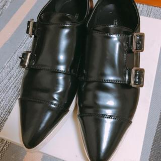 ケービーエフ(KBF)のRODESKO ダブルモンクシューズ(ローファー/革靴)