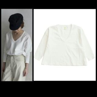 シー(SEA)の新品 SEA ヴィンテージ VINTAGE ルーズVネック ビッグTEE(Tシャツ(長袖/七分))