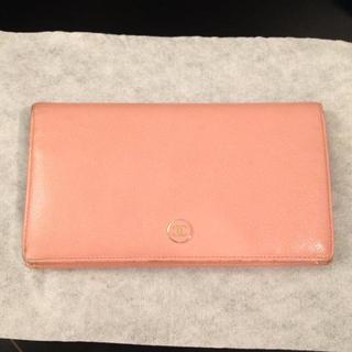 シャネル(CHANEL)のシャネル♡春色ピンクの長財布♡(財布)