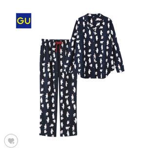 ジーユー(GU)のKKさま専用GU レディース パジャマ ベアー(パジャマ)