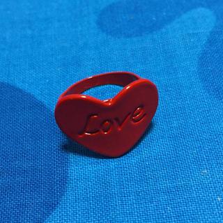 スイマー(SWIMMER)のLOVE リング ハート スイマー 新品未使用品(リング(指輪))
