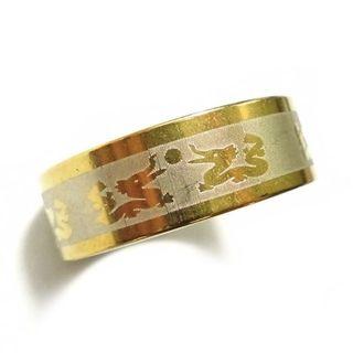 ☆新品☆25号ステンレスリング 指輪 龍 ドラゴン(リング(指輪))