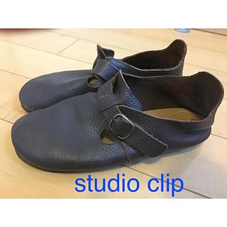 スタディオクリップ(STUDIO CLIP)のstudio clip  ダークブラウンシューズ(スリッポン/モカシン)