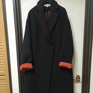 エンフォルド(ENFOLD)のエンフォルド リバー スリット コート enfold ワンピース 36 美品 (チェスターコート)
