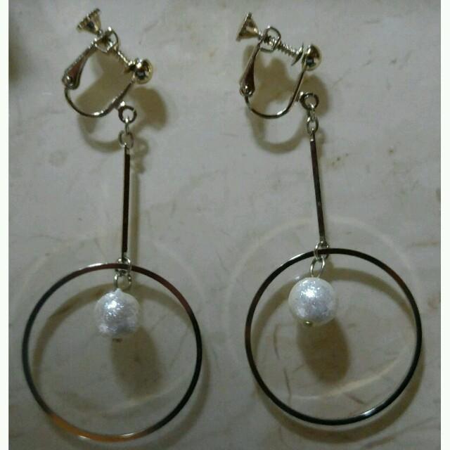 フープイヤリング フープ ゴールド イヤリング レディースのアクセサリー(イヤリング)の商品写真