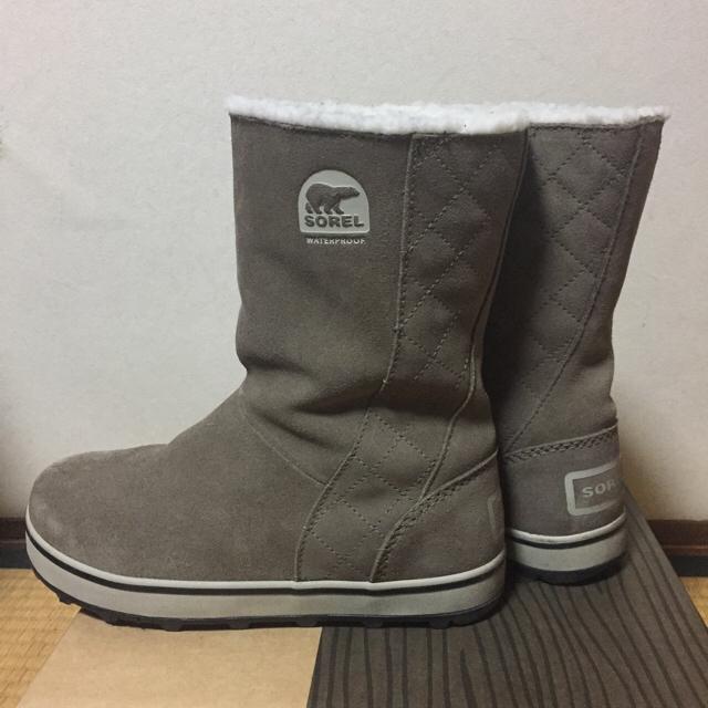 SOREL(ソレル)のkumi様専用 ソレル スノーブーツ グレイシー 6.5 23.5cm  レディースの靴/シューズ(ブーツ)の商品写真