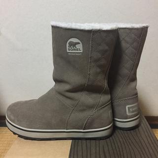 ソレル(SOREL)のkumi様専用 ソレル スノーブーツ グレイシー 6.5 23.5cm (ブーツ)