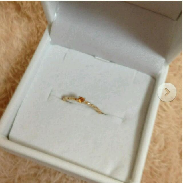 NOJESS(ノジェス)のNOJESS♡k10♡リング レディースのアクセサリー(リング(指輪))の商品写真