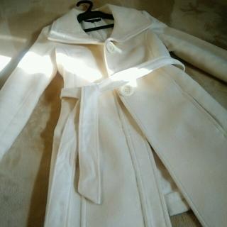 オゾック(OZOC)のOZOC*ホワイトコート*スナフキン様専用(トレンチコート)