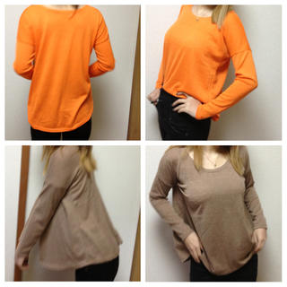 六色チュニックロンT(Tシャツ(長袖/七分))