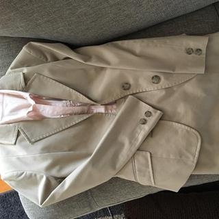 ミッシェルクラン(MICHEL KLEIN)のミッシェルクラン セットアップスーツ ブラウス  コサージュ付き パンプス(スーツ)