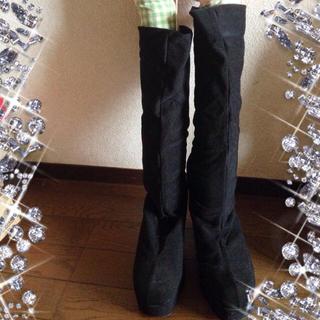 ストレッチブーツ♪(ブーツ)
