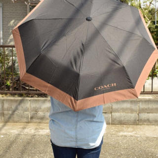 コーチ(COACH)のコーチ 折りたたみ傘(傘)