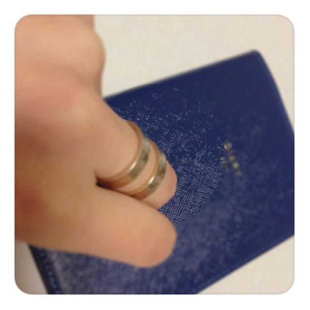 PAPILLONNER(パピヨネ)のパピヨネ♡リング💍 レディースのアクセサリー(リング(指輪))の商品写真