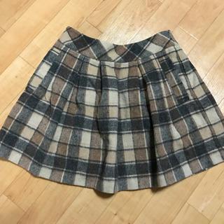 リズリサ(LIZ LISA)のロペピクニック チェック柄スカート(ひざ丈スカート)
