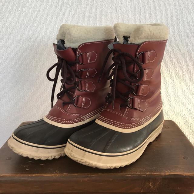 SOREL(ソレル)の☆びっちゃん様専用☆ SOREL スノーブーツ  美品 男女兼用 ユニセックス レディースの靴/シューズ(ブーツ)の商品写真