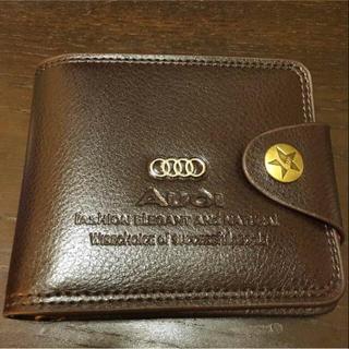 アウディ(AUDI)の☆送料無料☆ アウディ レア☆ 非売品 二つ折り財布(折り財布)