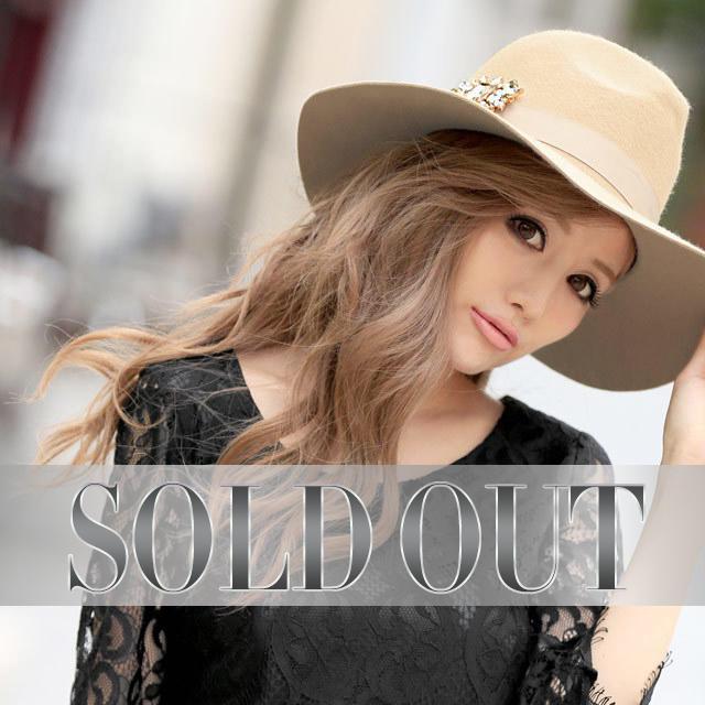 Rady(レディー)のRady♡新品♡ポイントビジューハット レディースの帽子(ハット)の商品写真