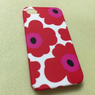 マリメッコ(marimekko)のiPhone4・4pケース✩(iPhoneケース)