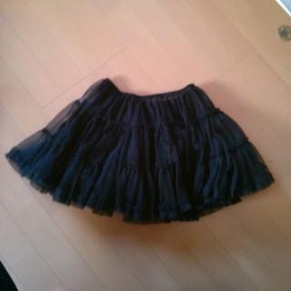 黒 チュチュスカート(ミニスカート)