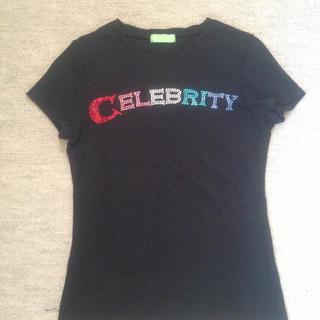 シェルレイ(Shell Ray)の美品 黒 Tシャツ(Tシャツ(半袖/袖なし))