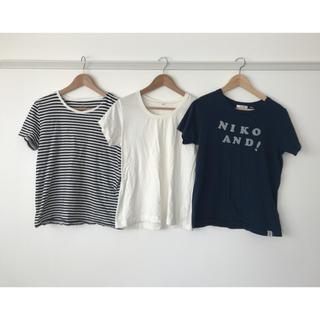 ムジルシリョウヒン(MUJI (無印良品))のTシャツ3枚セット(Tシャツ(半袖/袖なし))