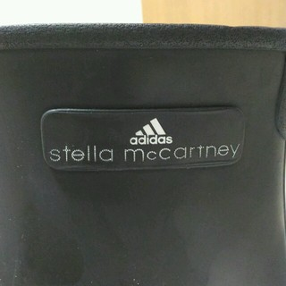 ステラマッカートニー(Stella McCartney)のadidas×ステラ・マッカートニー レインブーツ 黒(レインブーツ/長靴)