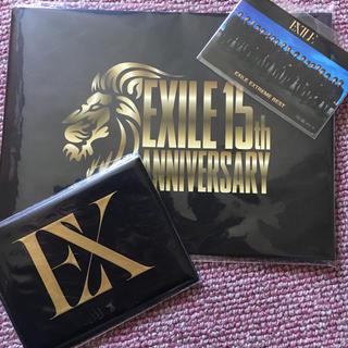 エグザイル トライブ(EXILE TRIBE)のEXILE15th パスケース&ICステッカー(名刺入れ/定期入れ)