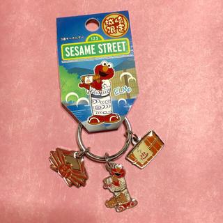 セサミストリート(SESAME STREET)の☆城崎限定☆ セサミストリート エルモ キーホルダー(キャラクターグッズ)