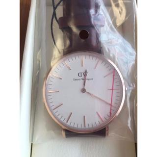 ダニエルウェリントン(Daniel Wellington)の新品 ダニエルウェリントン  0106DW ローズゴールド(腕時計(アナログ))