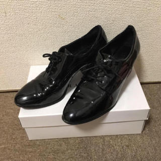 ランダ(RANDA)のレースアップマニッシュシューズ(ローファー/革靴)