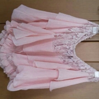 アンズ(ANZU)の新品春にぴったりピンクのトップス(カットソー(半袖/袖なし))