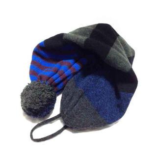 ビームス(BEAMS)のBEAMS購入 2way スコットランド製 eribe ループマフラー ニット帽(マフラー/ショール)