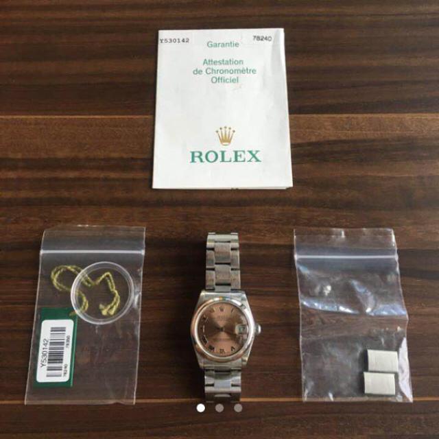 ROLEX - あやぴ〜様専用【美品】ロレックス デイトジャスト 78240 Y番 ROLEXの通販