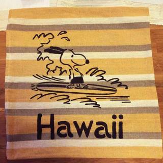 スヌーピー(SNOOPY)のサーフスヌーピーボーダー クッションカバー hawaii(クッションカバー)
