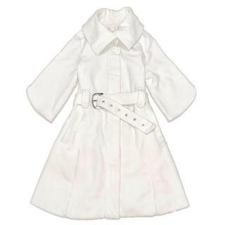 ジュエルズシーク(JewelsSeek)の最終価格【定価2.5万円】デザインカラー ホワイトコート(ロングコート)