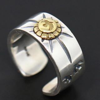 シルバー925、イーグルメタルリング 太陽神 平打ちリング、イーグルリング(リング(指輪))