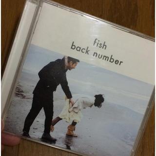 バックナンバー(BACK NUMBER)のfish / back number 初回限定版 CD+DVD(ポップス/ロック(邦楽))