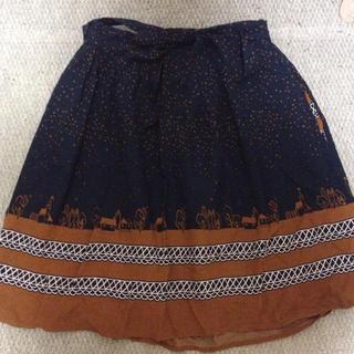プードゥドゥ(POU DOU DOU)のPOUDOUDOU スカート(ひざ丈スカート)