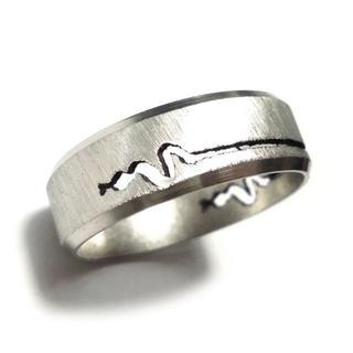 ☆新品☆25号ステンレスリング 指輪 蛇 ヘビ スネーク(リング(指輪))