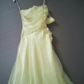 【再々値下げ】パーティードレス★黄色ロング(その他ドレス)