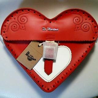 ドクターマーチン(Dr.Martens)のDr.martens HEART SATCHEL red(ショルダーバッグ)