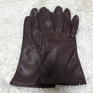 クロエ(Chloe)の Chloeレザー手袋(手袋)