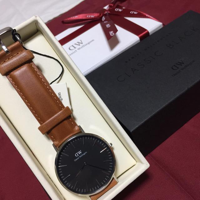 Daniel Wellington(ダニエルウェリントン)の*大人気*ダニエルウェリントン 腕時計 40mm* メンズの時計(レザーベルト)の商品写真