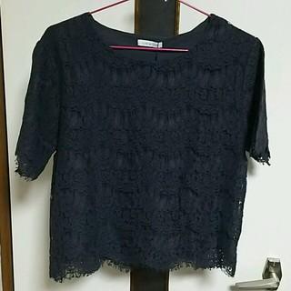 オリーブデオリーブ(OLIVEdesOLIVE)の新品オリーブデオリーブ レースプルオーバー(Tシャツ(半袖/袖なし))