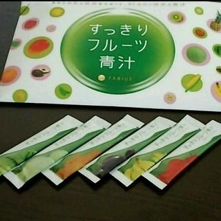 @cosumeランキング第1位!お試しファスフル☆6袋 すっきりフルーツ青汁(ダイエット食品)